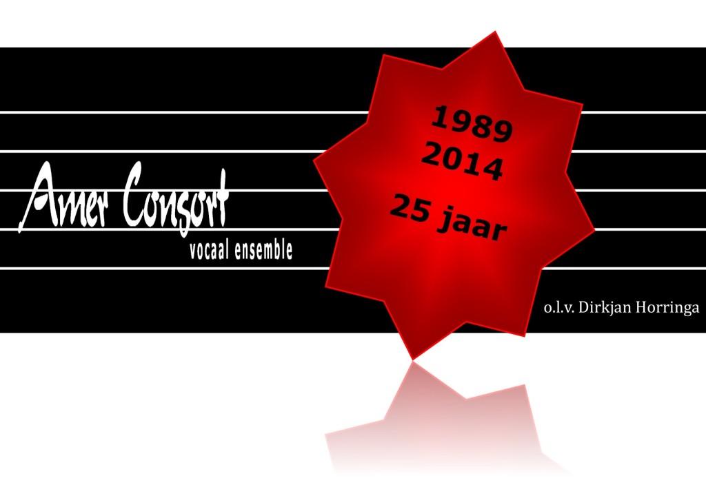 logo jubileum 25 jaar Amer Consort